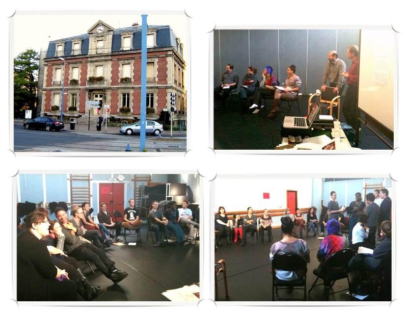 Workshop in collaboration with Patrick Villanueva. Conservatoire Jean Wiener in Bobigny (Paris)