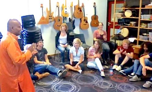 Workshop at the Prince ClausConservatoire Groningen (Netherlands)